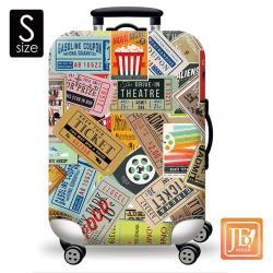 繽紛行李箱套--美式搖滾S