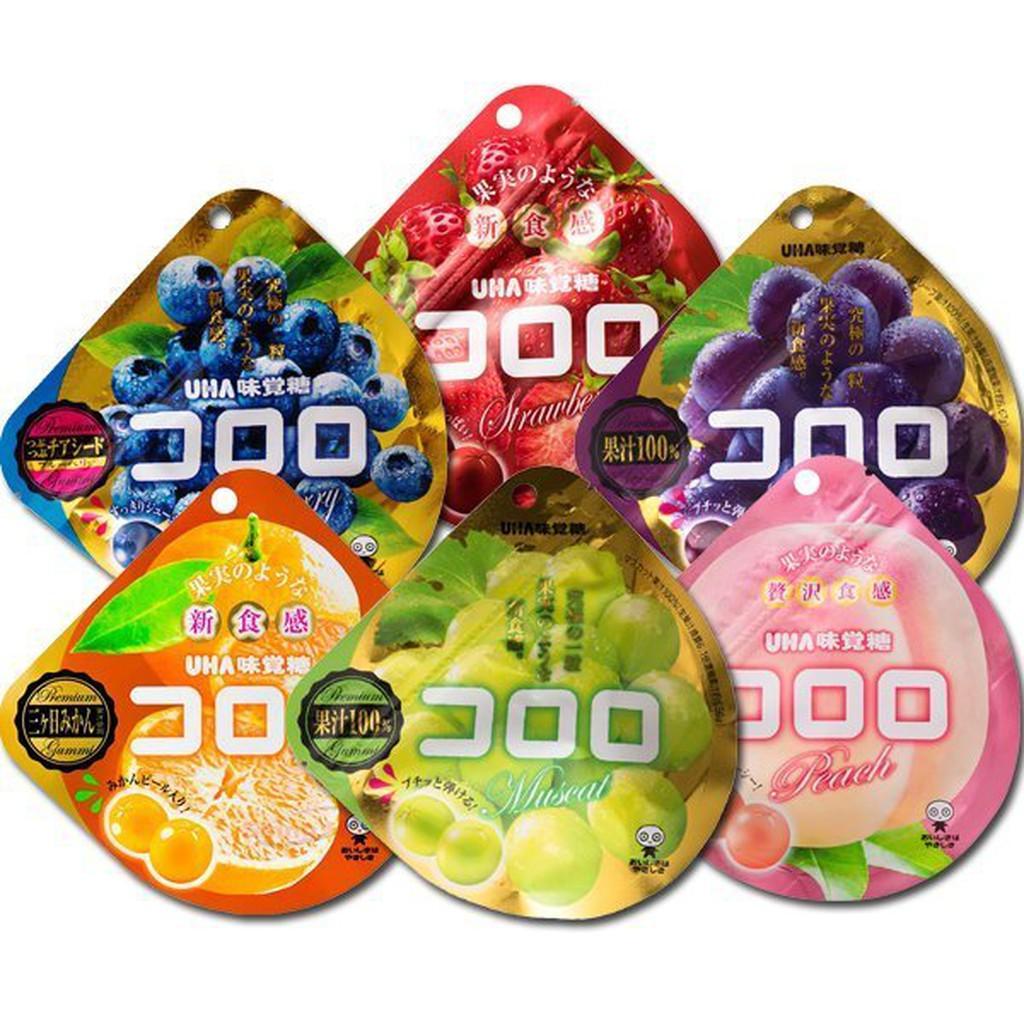 UHA 味覺糖 Kororo果汁軟糖(48g/40g)【小三美日】D633155