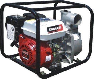 """【優質五金-私訊有優惠】 SHIN KOMI 5.5HP SK-WP200A四行程2""""引擎抽水機大抽水量好發動"""