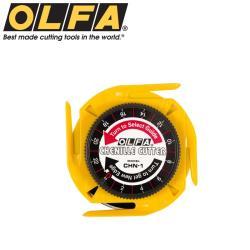 日本OLFA四段式拼布斜刷刀CHN-1(雙面黑刃鎢鋼刀片)切割多層重疊布料紙張卡片照片毛氈,作出絨面效果