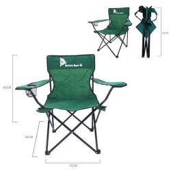 英國熊 摺疊休閒野餐椅 078Y-173E