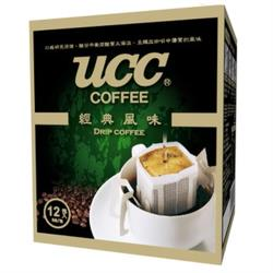 UCC經典風味濾掛式咖啡 8gx12入