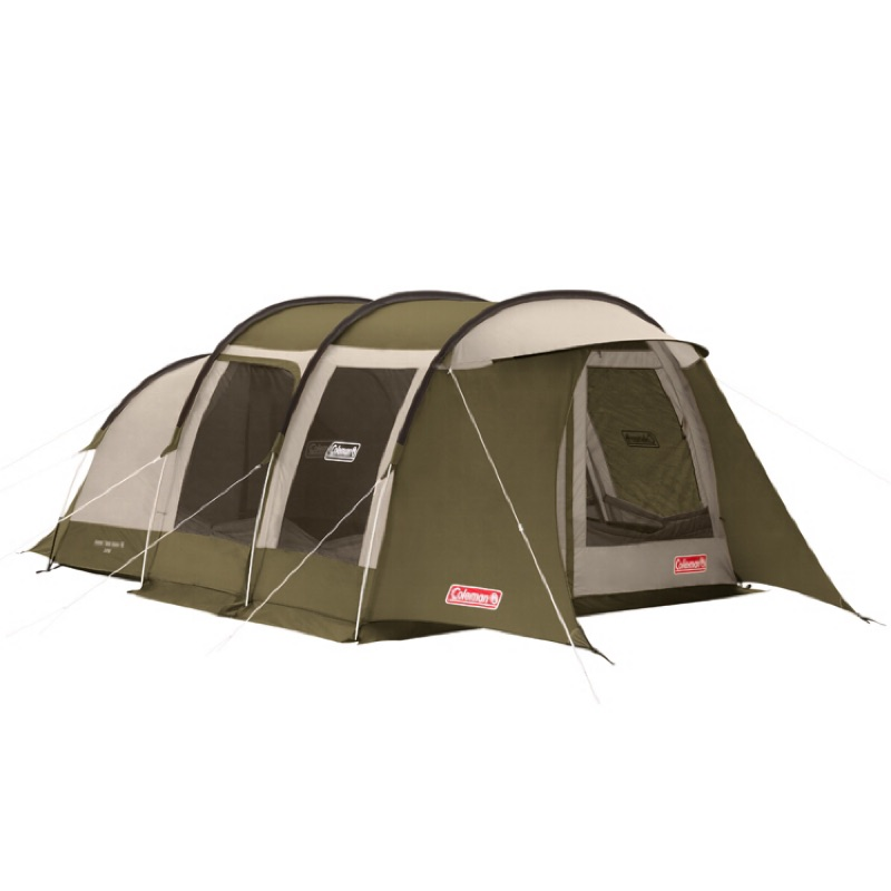 Coleman 綠橄欖隧道式 2ROOM LDX 套裝帳篷 CM-33801