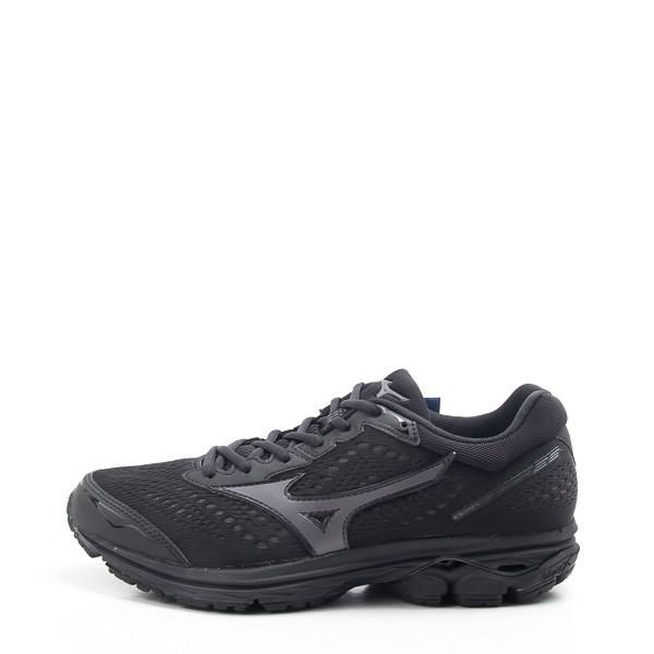 Mizuno RIDER 22 男款慢跑鞋 全黑 勤務鞋 警察 大尺碼 J1GC183113 現貨