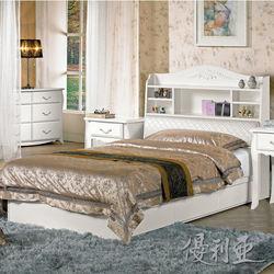 【優利亞-仙朵菈】單人3.5尺床頭箱+單邊抽屜床底(不含床墊)
