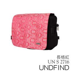 UNDFIND UN-2716(S) 時尚多功能攝影包-長格紅 UN-2716-S5