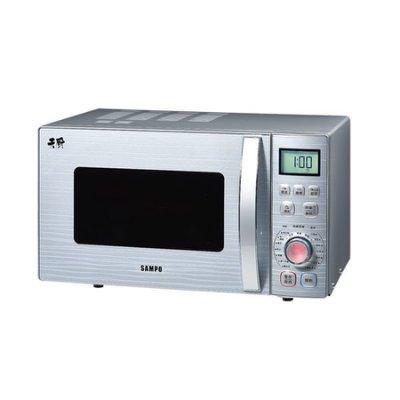 【小饅頭家電】【A級福利品‧限量搶購】 SAMPO 聲寶 23L微電腦式微波爐 RE-N623TG