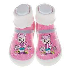 《布布童鞋》巧虎童鞋妙妙向日葵桃粉色(12.5~16.5公分) [ V7U007H ] 桃粉色款