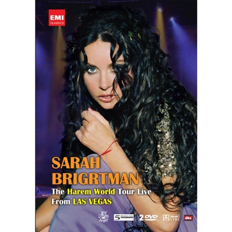 莎拉布萊曼一千零一夜-拉斯 維加斯 現場演唱會(2DVD)