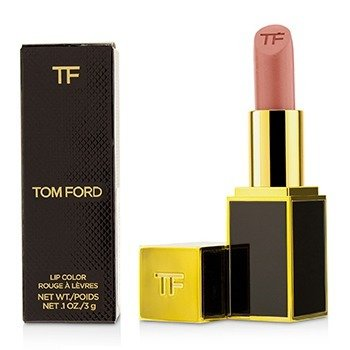 Tom Ford 設計師唇膏 (黑管) - # 01 Spanish Pink 3g/0.1oz - 唇膏/口紅
