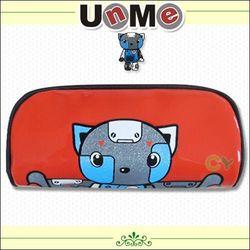 任-UnMe機器人亮面筆袋 / 紅色