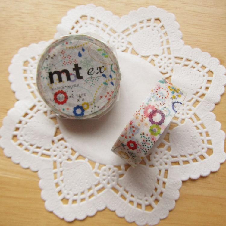 mt 和紙膠帶 ex【繽紛綻放 POP (MTEX1P74)】