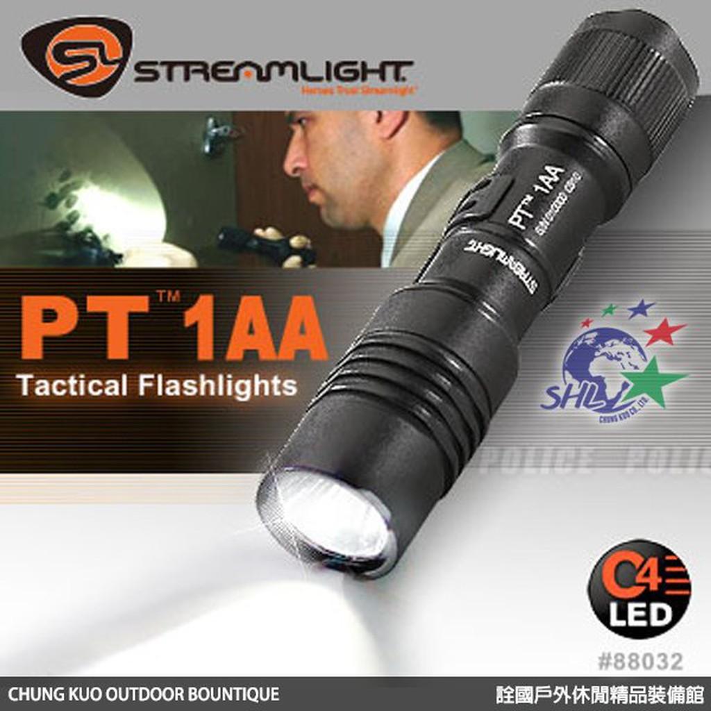 Streamlight PT 1AA C4 LED 戰術手電筒 / 88032 【詮國】