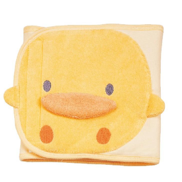 黃色小鴨秋冬造型肚圍 100%純棉表布 有大肚圍也有小肚圍 新生兒起適用 台灣製