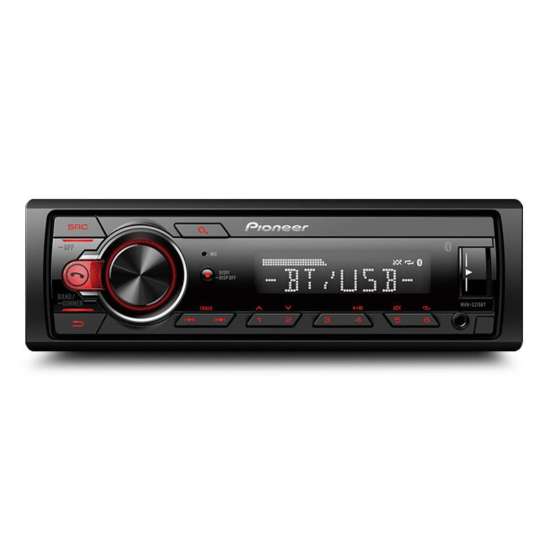 --先鋒 Pioneer MVH-S215BT 廣播/USB/AUX/ 無碟藍芽主機 50W X4