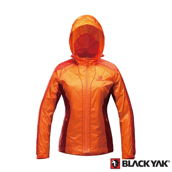 【BLACKYAK】女款超輕量防風薄外套 [珊瑚色] 女款 輕量外套 防風外套 | BY151WJ002