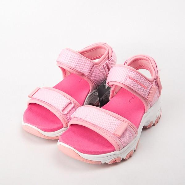 Skechers D Lites-Cosmic Splash 兒童涼鞋 粉 996334LPNK 現貨
