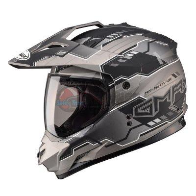 [安信騎士] SOL GMAX 11S SS-1 SS1 彩繪 冒險 消光黑銀 複合 越野帽 越野帽 安全帽 再送好禮