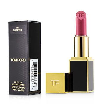 Tom Ford 設計師唇膏 (黑管) - # 08 Flamingo 3g/0.1oz - 唇膏/口紅