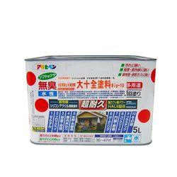 日本水泥/混凝土/木/鐵/塑膠 Big-10大十全健康塗料5L