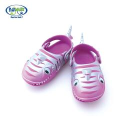 Polliwalks童鞋-鯊魚(粉紫)