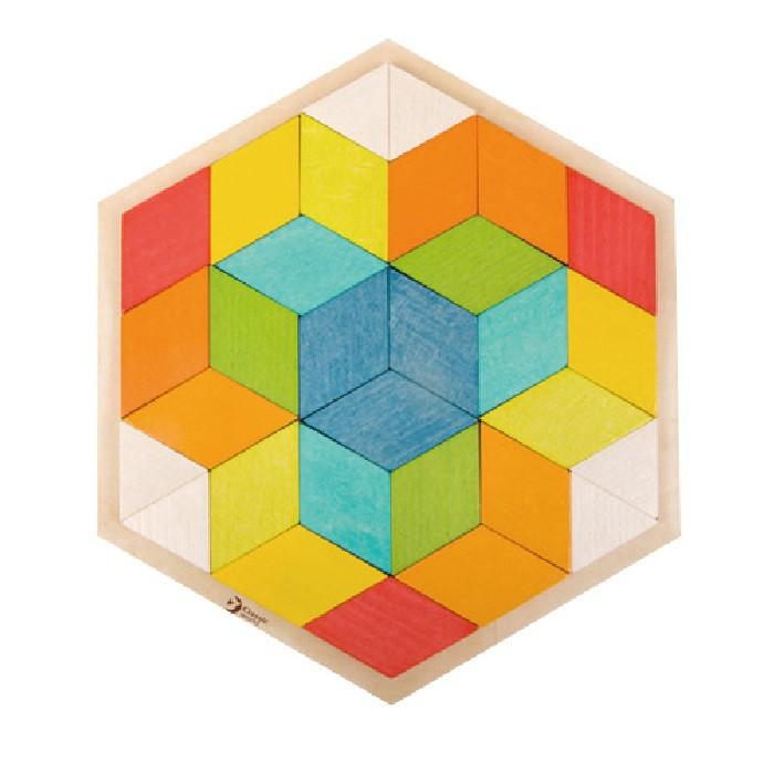 Classic World 德國經典木玩 空間拼圖