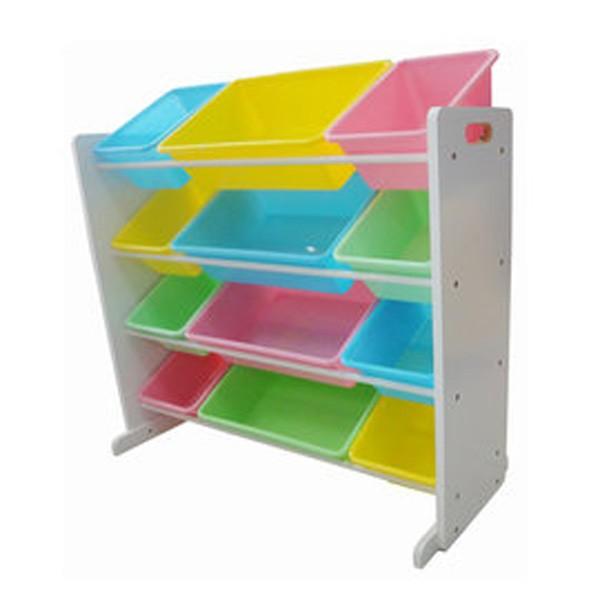 [Hi-toys]粉彩兒童玩具收納櫃