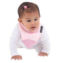 【Mum 2 Mum】機能型神奇三角口水巾咬咬兜-粉紅