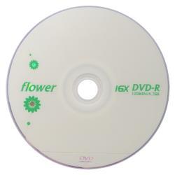 FLOWER DVD-R 16X 100片裝 可燒錄空白光碟