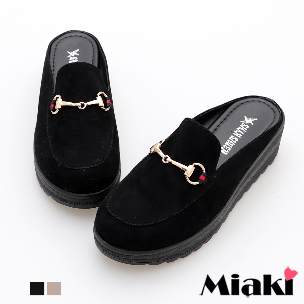 穆勒鞋MIT 人氣時尚加厚圓頭鞋