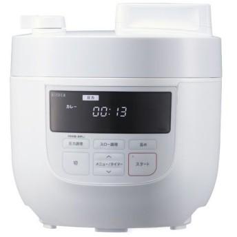 シロカ 電気圧力鍋 4L SP-4D151 ホワイト ( 1台 )/ シロカ(siroca)