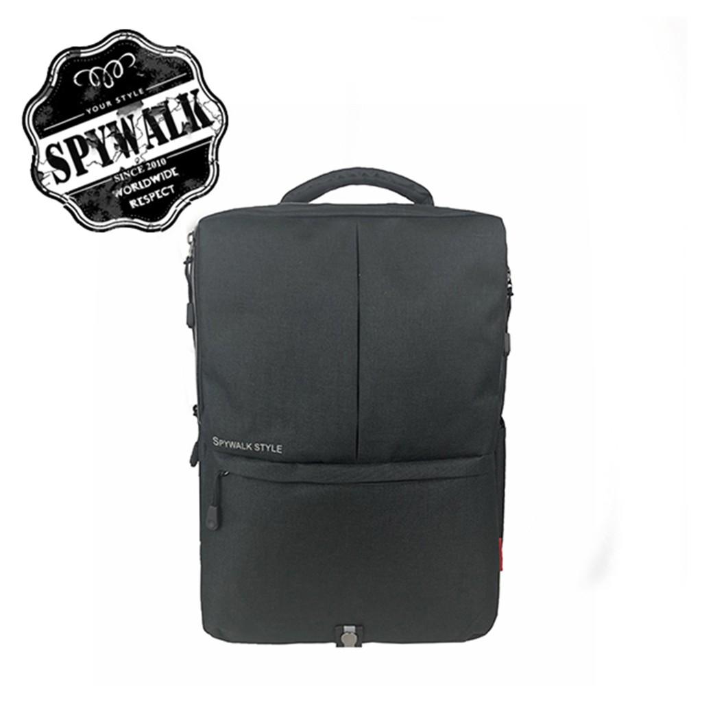 SPYWALK 休閒雙肩包 NO S5286 休閒包 後背包 街頭時尚包USB孔