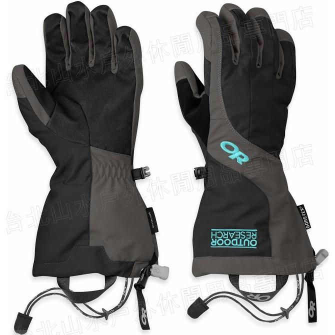 Outdoor Research 防水手套/滑雪手套/保暖手套 Gore-Tex Arete 女款 243356 灰黑