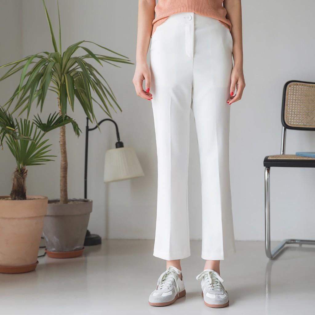 [ENVYLOOK]嬌小女性西裝褲