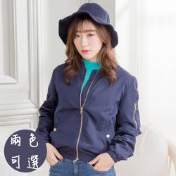 iima 韓流顯瘦飛行外套(2色)