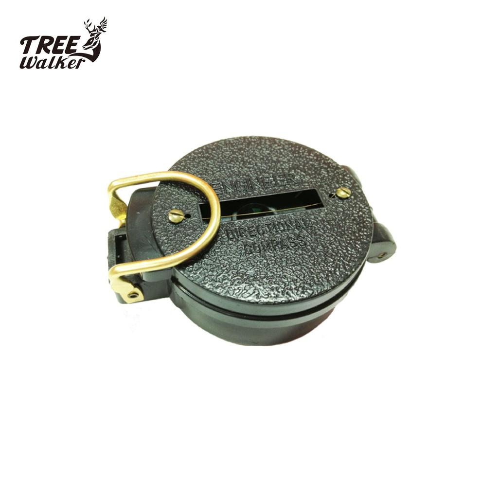 【Treewalker露遊】實用compass 求生軍用 登山 露營 測量 掀蓋式 指南針 指北針