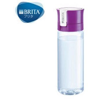 BRITA(ブリタ)水筒 浄水 ボトル フィル&ゴー バイタル パープル 600ml カートリッジ 1個付き 【日本仕様・日本正規品】