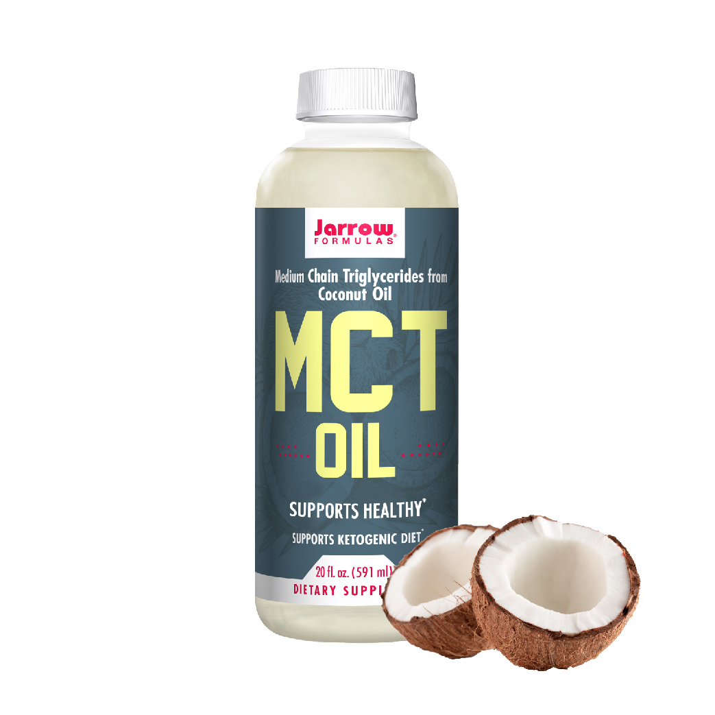 [Jarrow 賈羅公式] 中鏈三酸甘油脂MCT Oil (椰子油來源) (591ml/瓶) (全素)