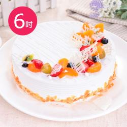 樂活e棧 生日快樂蛋糕 典藏白之翼 6吋
