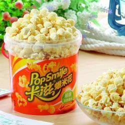 卡滋爆米花-原味甜爆米花6桶-磨菇球(150g/桶)