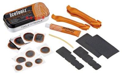 【繪繪】新款 IceToolZ  豪華版補胎工具組合 挖胎棒+補胎工具 附收納鐵盒 環島必備 補胎工具
