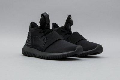 ADIDAS ORIGINALS TUBULAR DEFIANT S75244 全黑武士忍者鞋慢跑鞋現貨代購 平民版Y3