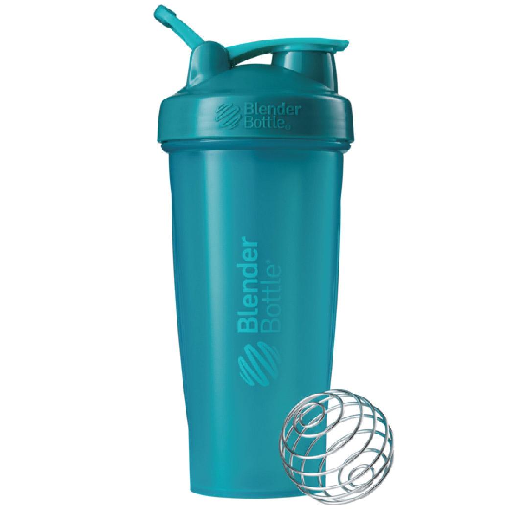 [Blender Bottle] Classic搖搖杯(840ml/28oz)-湖水綠