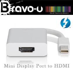 Bravo-u Mini Displayport to HDMI視訊傳輸線