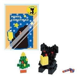 【Nanoblock 迷你積木】黑熊聖誕樹 NBGC-006