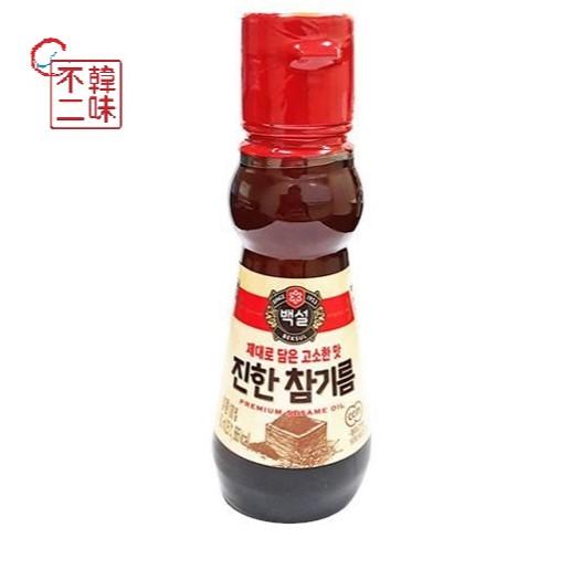 【韓味不二】CJ芝麻油160ml