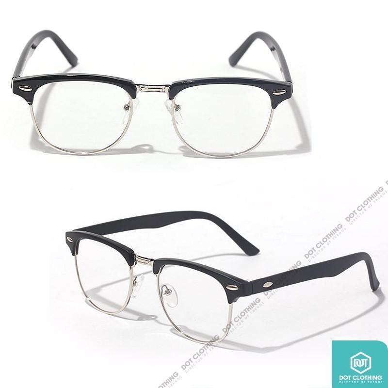 全新 BLINKER 台灣潮流品牌 時尚 近視眼鏡 半邊框 方框 日系 金屬 黑 亮面 韓星 GD 張家輝