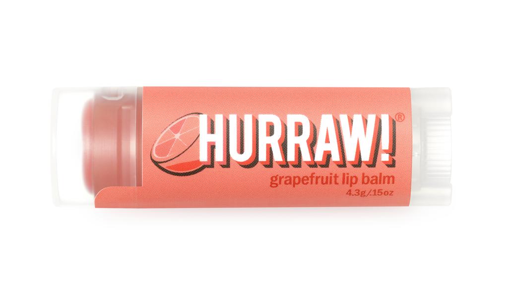 美國Hurraw護唇膏 葡萄柚