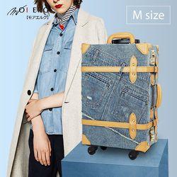 MOIERG La Vie牛仔嬉遊記19吋行李箱-Jeans牛仔褲紋路