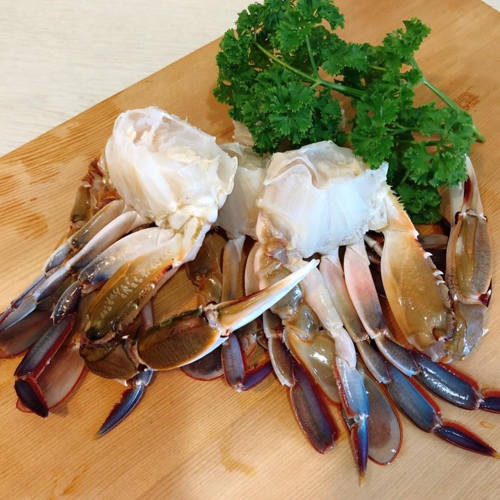 船凍三點蟹切身1盒(淨重650g/盒±10%,11~15份)【赤豪家庭牛排】海鮮粥 螃蟹 烤肉 QQB